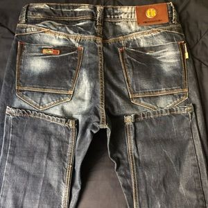 NWOT TAKESHY KUROSAWA Men's Jeans, Size 34, Italy